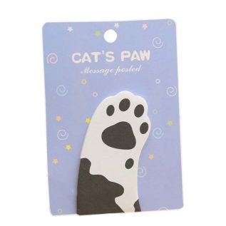post it huella gato regalo catlover